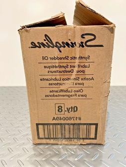 ACCO Swingline 1760049A Synthetic Shredder Oil Box of 8