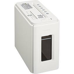 Kokuyo ultra-quiet deskside shredder multi white AMKPS-MX100