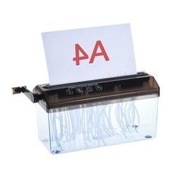 Paper Shredder for A4 Paper Hand Crank Strip for School Offi