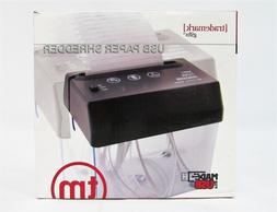 USB Mini Paper Shredder portable Excalibur Electronics Trade