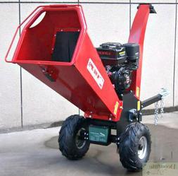 WOOD CHIPPER LEAF SHREDDER MULCHER 15HP Gas 420cc Electric S