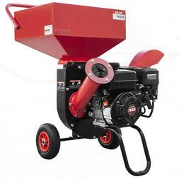 XPUSA 6.5HP Heavy Duty 212cc Gas Powered 3:1 Pro Wood Chippe